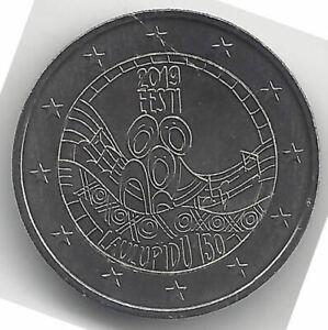 Estonie 2 Euros 1ª 2019 République Emissions N°7