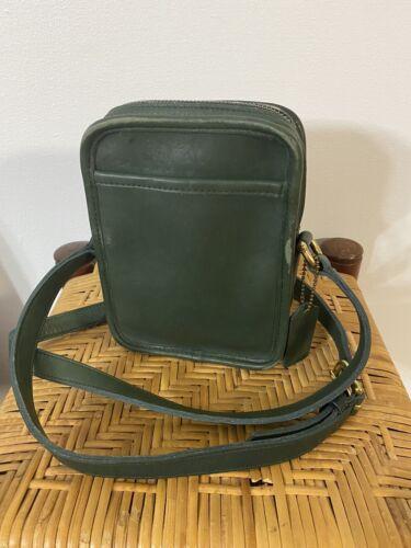 Vintage Coach Camera Kit Crossbody Bag Yellow