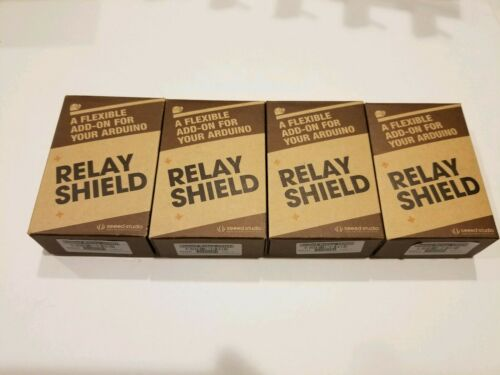 Lot of 12 Arduino Seeed Studio Relay Shield Expansion Board-brand new in box