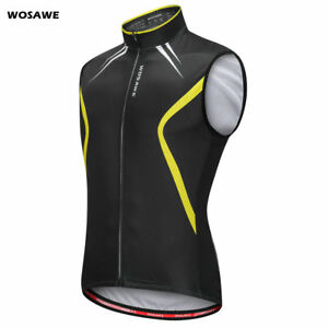 Mens-Cycling-Vest-Sleeveless-Jersey-Bike-Bicycle-Outdoor-Sports-Reflective-Vest