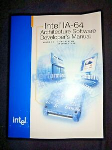IA-32 Intel Architecture Software Developer's Manual System 2000 Tech Guide Vtg