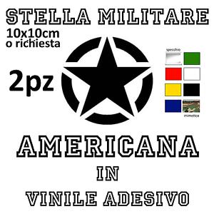 ADESIVO-STELLA-MILITARE-AMERICANA-NERA-RICAMBIO-10X10-MOTO-CASCO-FORNITURA-2-PZ