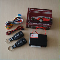 Universal Car Remote Control Central Door Lock Unlock Keyless Entry System Kit