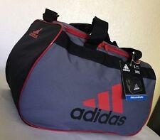 Adidas Diablo Small Duffel Bag Lead/Black/uni.red Gym Sport
