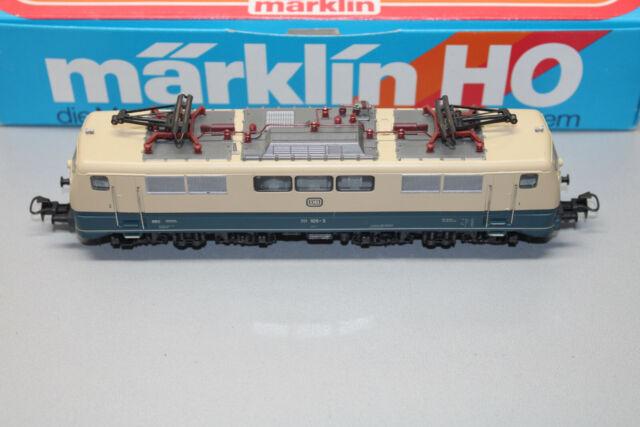 Märklin 3042 Romualdo Serie Br 111 105-3 DB Blu/Beige Scala H0 Conf. Orig.