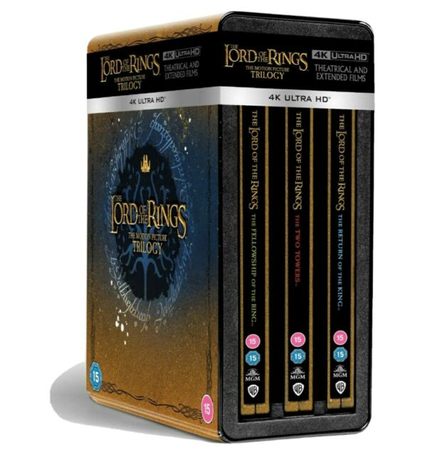 Le Seigneur des Anneaux blu-ray 4K  Steelbook - The Lord of the Rings Trilogie
