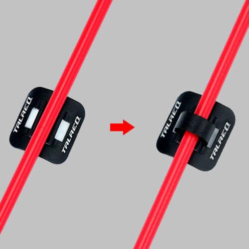 8x MTB Fahrrad Bremse Kabelführung Sitz Rahmen Kabel Halter Befestigung Klemme