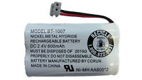 Genuine Uniden Bt-1007 Dc 2.4v Rechargeable Cordless Telephone Battery