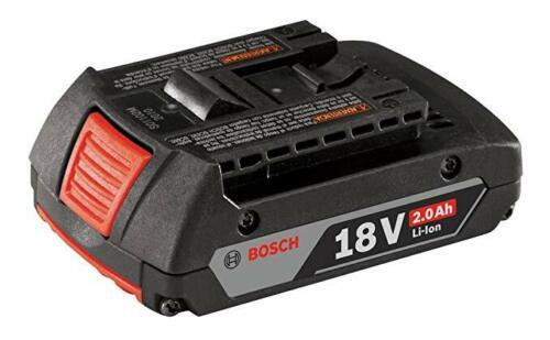 Bosch Genuine OEM 18 Volt 2.0Ah Lithium Ion Slim Battery # 2607336875X