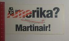 Aufkleber/Sticker: Amerika Martinair (291216112)