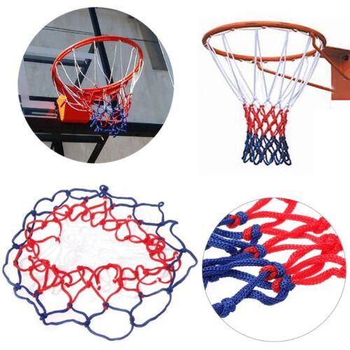 Basketball Goal Hoop 12 Hoop Durable Nylon Net Sports Netting Mesh Replacement