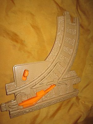 Fisher Price Geo Trax Tan Intersection Switch Track