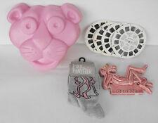 PINK PANTHER lot of 4 cool items socks ceramic item etc must have L@@K