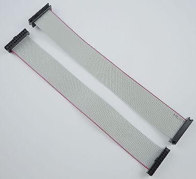 2Pcs 2mm Pitch 2x10 Pin 20 Pin 20 Wire IDC Flat Ribbon Cable Length 15CM
