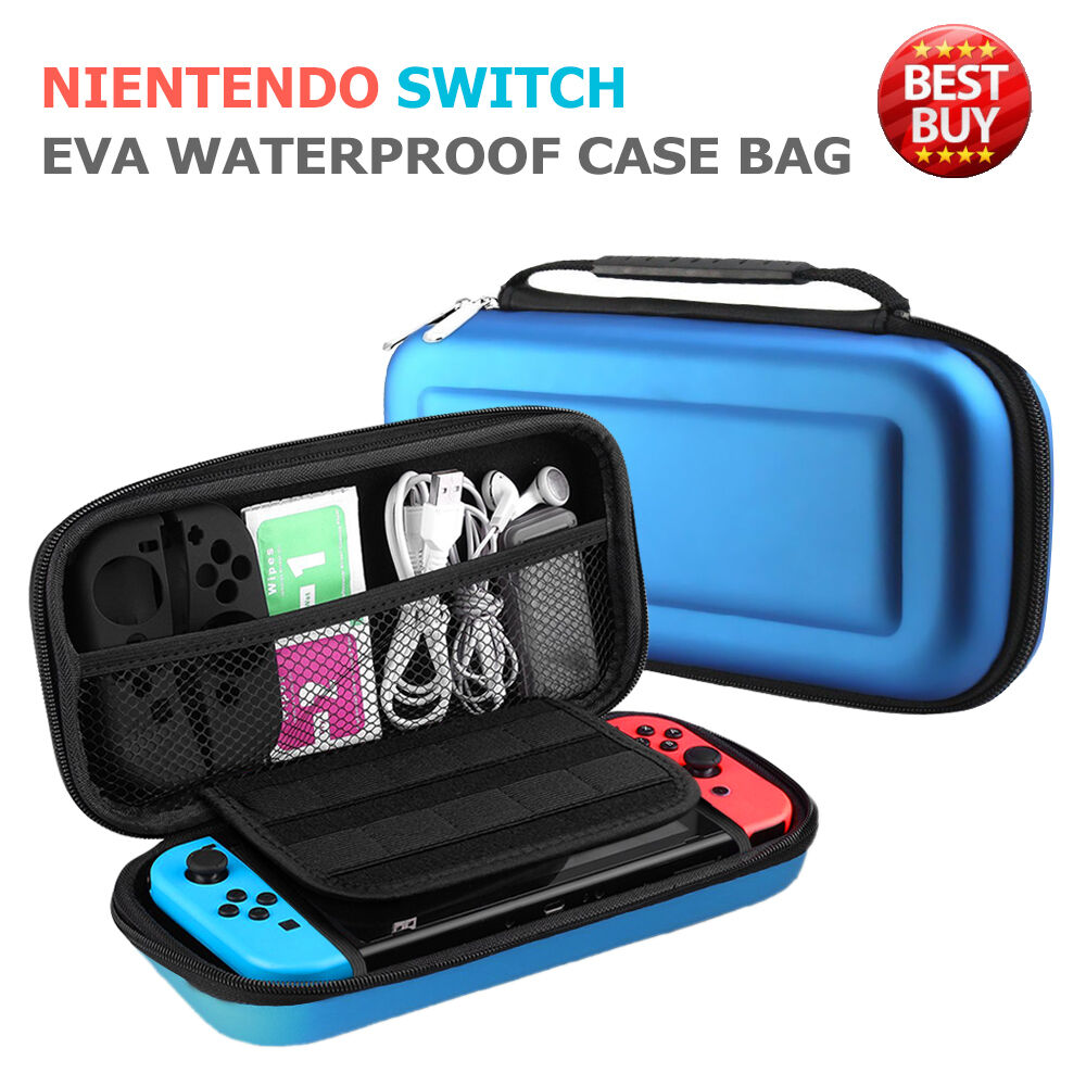 Sottile Borsa Custodia Rigida per Nintendo Switch, Giochi e Accessori Case Cover