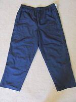 Athletech Men's Athletic Basketball/track Pants Dark Navy Blue Size Xl