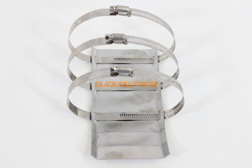 Universal Header Skid Plate Shield Protect Header Dent Slammed Lowered Scrapes