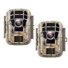 2PCS Campark 1080P Hunting Camera  16MP FHD Wildlife Trap Trail Cam Night Vision