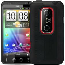 Otterbox Impact HTC EVO 3D Case Cover Rugged Silicone Skin (Black)