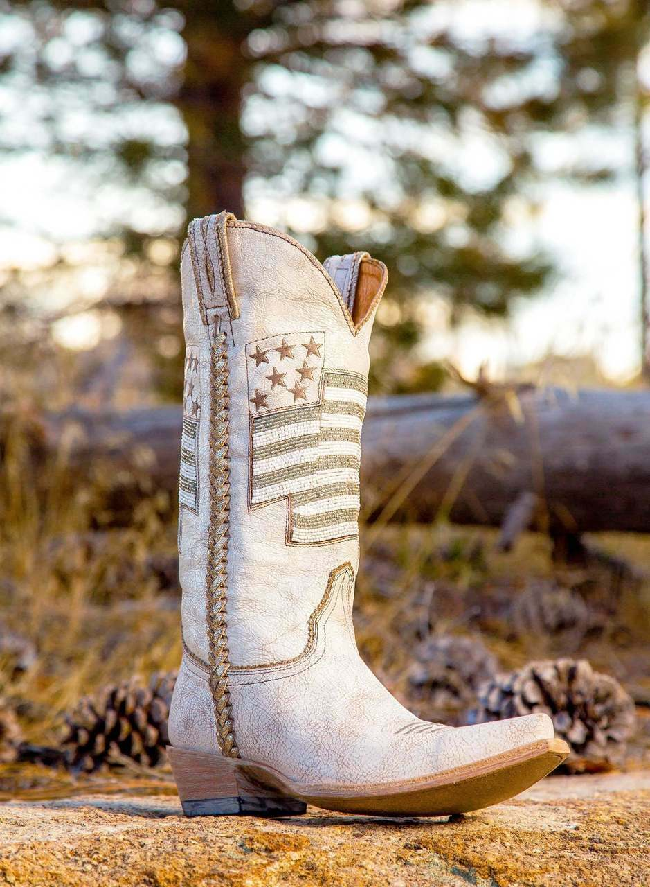 L2961-2 OLD GRINGO ELEANOR BY BY BY DAWN'S EARLY LIGHT 13  BEADED WINTER Weiß Stiefel 7192f7