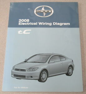 2008 Toyota Scion tC Electrical Wiring Diagram Service ...
