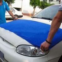 "Soft Blue Microfiber Cleaning Towel Car Auto Wash Dry Clean Cloth 23""x 63""inch"