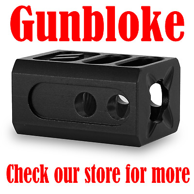 "1//2/"" UNEF GLOCK COMPACT1 Muzzle Brake Compensator G17 G19 G26  1//2x28"