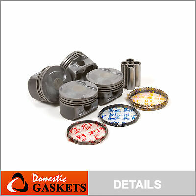 for 93-98 3.0L Nissan Quest Mercury Villager VG30 Std Premium Piston//Ring Set