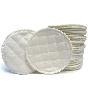 12pcs Baby Feeding Breast Pads Reusable Washable Cotton Nursing Breastfeeding Ebay