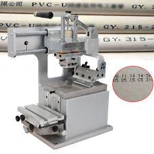 Manual Single Color Pad Printing Machine For Words Numbers Simple Logos Printing