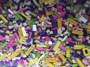 100-LEGO-GIRL-FRIENDS-PASTEL-COLORS-LEGOS-PARTS-amp-PIECES-HUGE-BULK-LOT-1