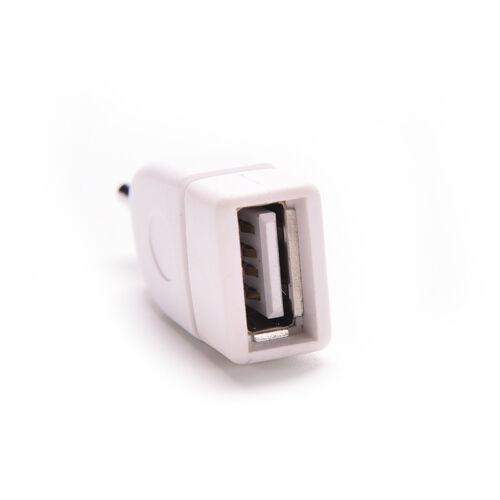 New 3.5mm Male AUX Audio Plug Jack to USB 2.0 Female Converter Adapter Plug Nice