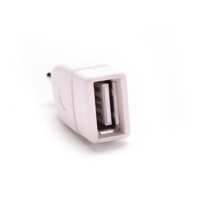Hot 3.5mm Male AUX Audio Plug Jack to USB 2.0 Female Converter Adapter P be