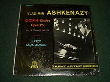 Chopin Etudes Opus 25 Liszt Mephisto Waltz Vladimir Ashkenazy~VG++~FAST SHIPPING
