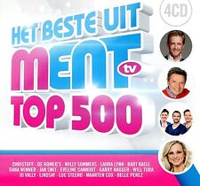 Het beste uit Ment Top 500 (Laura Lynn, Christoff, Romeo's, Jan Smit, ...) (4 CD