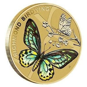 Australia-2016-Beautiful-Butterflies-1-One-Dollar-UNC-Coin-Perth-Mint-Carded