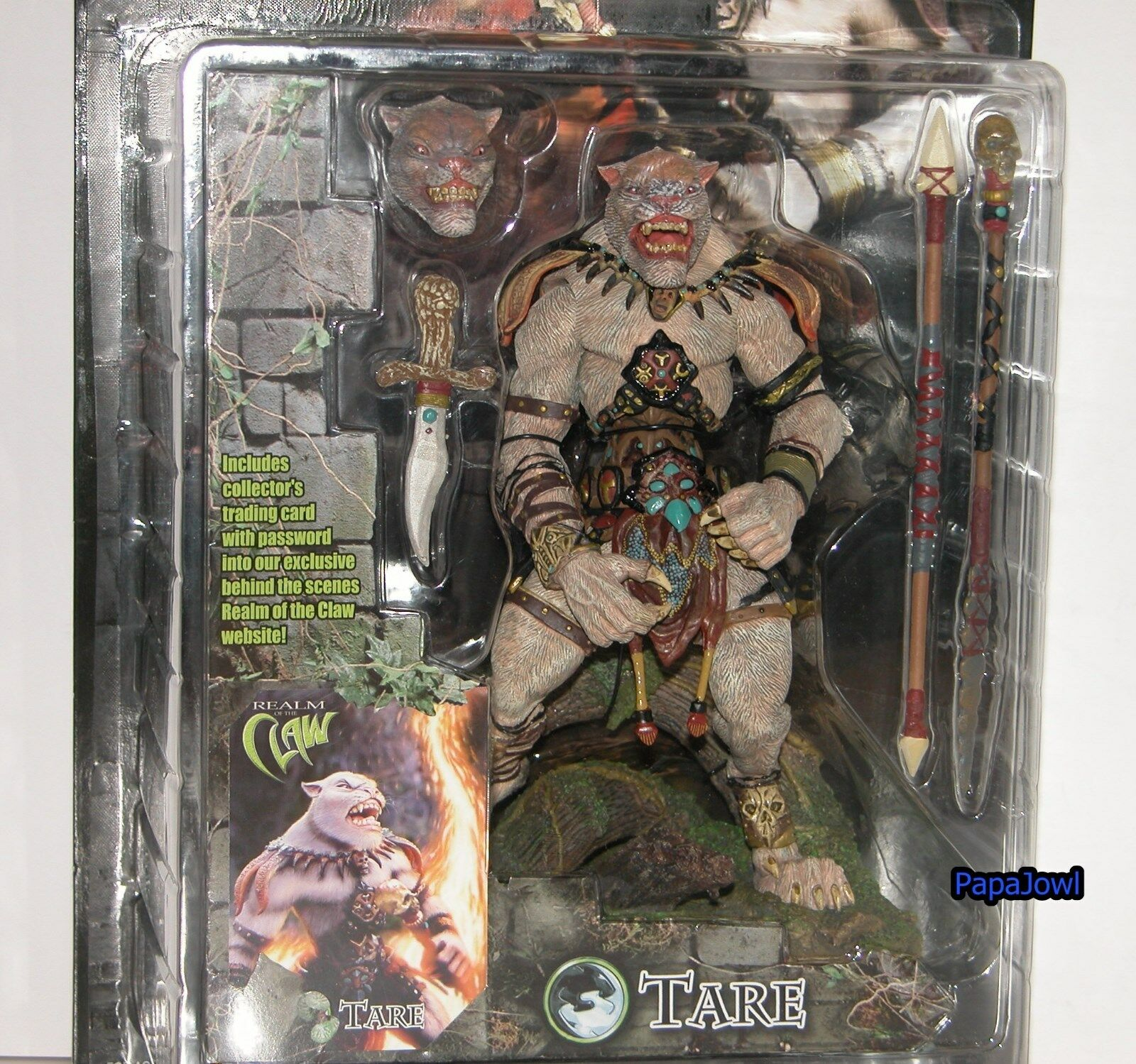 Stan Winston Creatures TARE Realm Of The Claw Claw Claw With Base Cat 8  Action Figure b64ba3