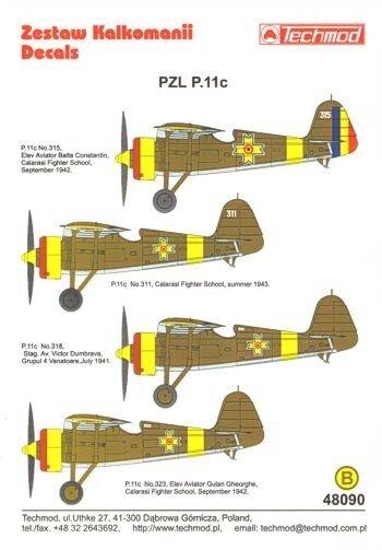 TECHMOD 1 48 PZL P.11c