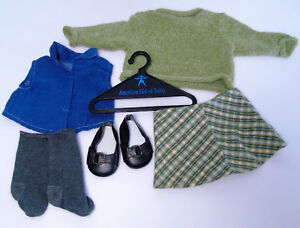 7b311367a American Girl Doll Clothes PERFECTLY PLAID SKIRT SWEATER OUTFIT ...