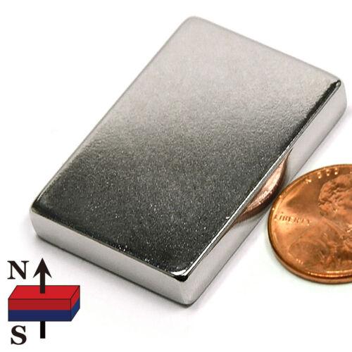 "CMS Magnetics® 20 pieces Neodymium Magnet  N52 1 1//2x1x1//4/"""