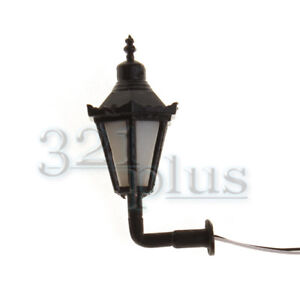10 pcs. Miniature Wall Lights 1:32 Scale Accessories Wall Lantern 3 Volt DC 1