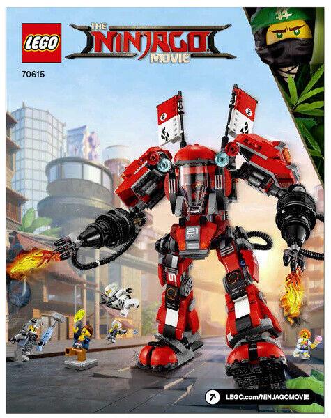 "LEGO Ninjago 70615. ""Fire Mech (Ildrobot)"