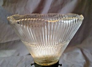2-1-4-034-Fitter-Holophane-Style-Shade-Ceiling-Floor-or-Lamp-Fixture-Globe-6609