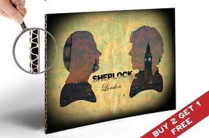 SHERLOCK-HOLMES-Poster-A4-Size-Art-Print-Benedict-Cumberbatch-Martin-Freeman
