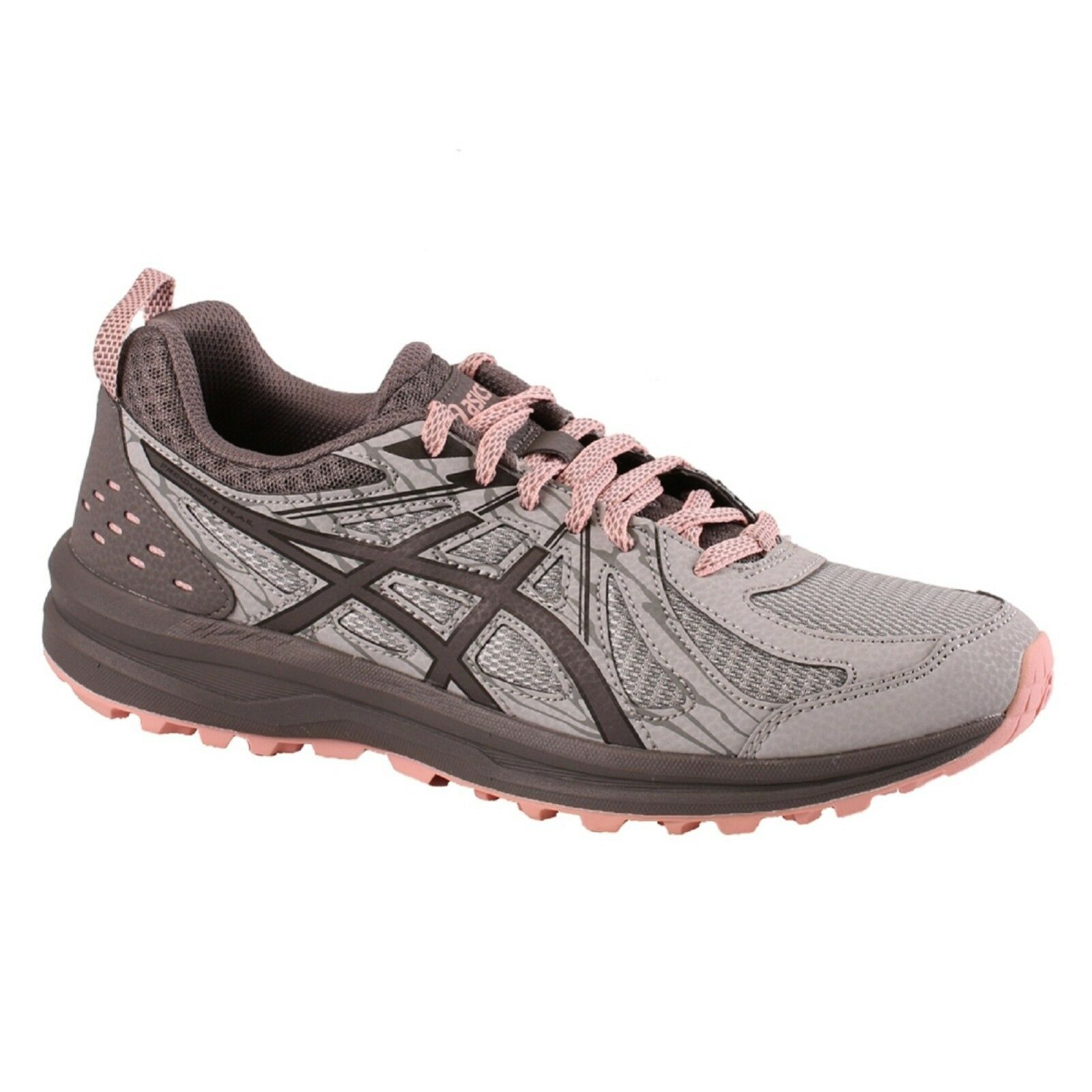 Men's Asics FREQUENT TRAIL (D) 1012A126/020 Grey Carbon Trail Running Shoes