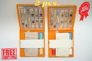 2 PCS New old stocks of first aid kit of the Soviet Russian army AI-2, first aid