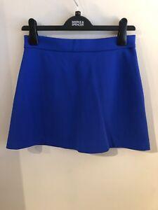 oro a Miniskirt vista Zip in 10 blu Topshop B1ITq
