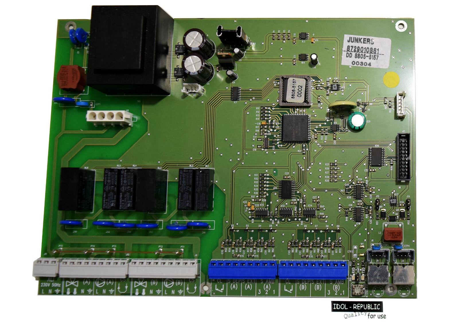 Junkers - Leiterplatte für TAC-Plus 2 - 8729010881 - DD 8805-5157 - TAC Plus 2