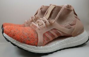 Details about Sz 6 Women's Adidas UltraBOOST X All Terrain LTD Shoe Ash Pearl Orange BY8921