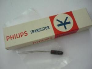 TRANSISTOR Philips Mullard OC45 NTN cv12004 CV7004 Germanium Glass PNP Ge60s NOS